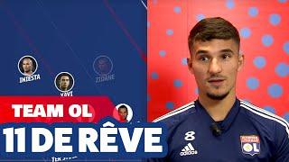 Le 11 de rêve de Houssem Aouar | Olympique Lyonnais