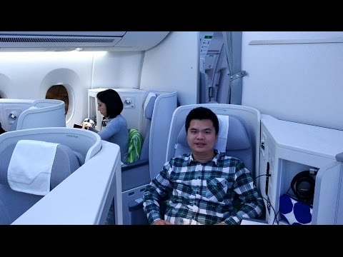 【Finnair】Helsinki to Hong Kong business class by A350