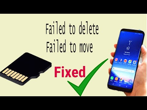 How To Solve Failed To Delete/move Problem In Memory Card.(100% Work)