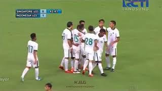 Download Video Laga Uji Coba U23 Indonesia vs U23 Singapura (3-0) 21 Maret 2018 MP3 3GP MP4