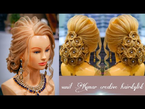 karwachauth-hairstyles-2020/-latest-hairstyle-for-karwachauth-occasion-/-simple-bun-for-karwachauth