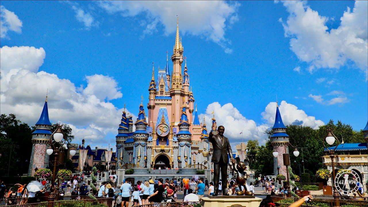 Download Magic Kingdom 2021 Complete Park Sights & Sounds in 5K   Walt Disney World 50th Anniversary Florida