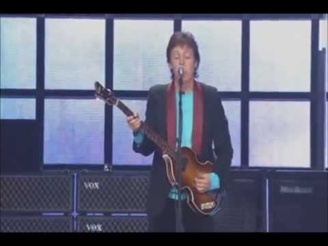Till There Was you- Sir Paul Mccartney. Live.
