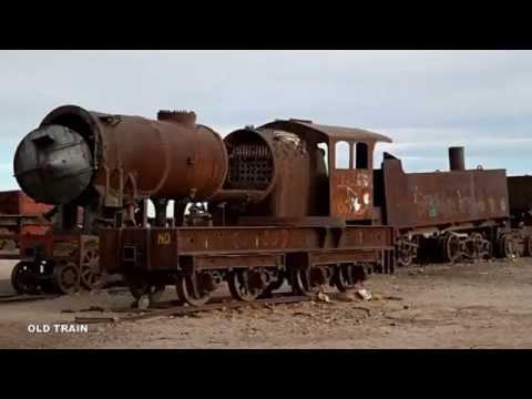 Мультфильм старый паровоз