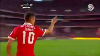 Golo de Jonas: Benfica (2)-0 Guimarães (Liga 28ªJ)