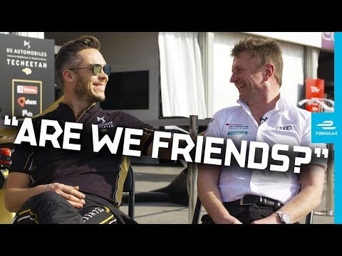 Friends Reunited! Andre Lotterer And Allan McNish Talk Racing From Le Mans To Formula E