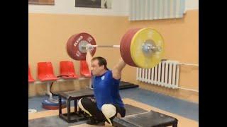 The Incredible Ilya Ilyin - 205 kg Snatch