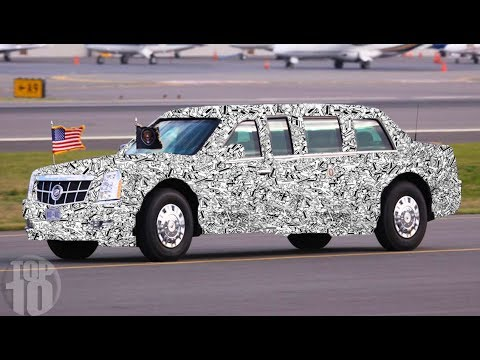 Take A Look Inside President Trump's New Vehicle