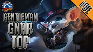 League of Legends - Gentleman Gnar Top - Full Game Commentary