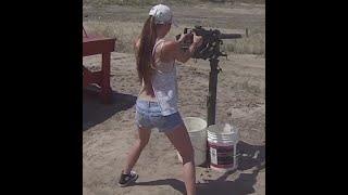 compilation of girls with machine guns!!