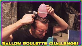Water Balloon GUN ROULETTE Challenge