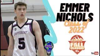 6'6 Wing Emmer Nichols - DIFFERENT 2022 - Sacred Heart Prep - WCE Utah Fall Classic
