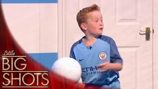Little Football Fan Recreates His Favourite Goal | Little Big Shots