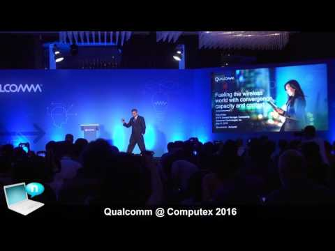 Qualcomm Computex 2016 - Tri-radio platforms WiFi 802.11ac, 802.11ad, Snapdragon Wear 1100 and 2100