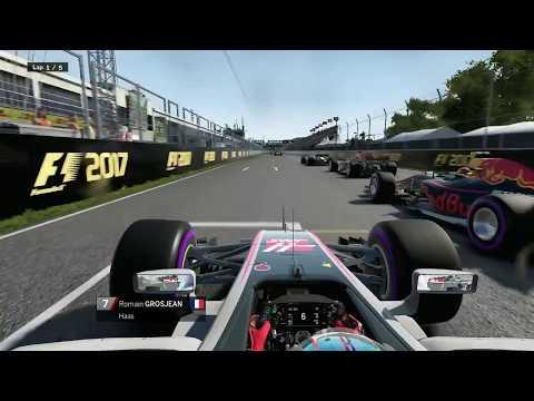 F1 2017 - 5 Laps Montreal - Onboard - Grosjean [HD]