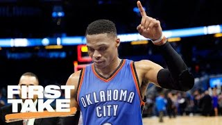 Stephen A. Likens Russell Westbrook To Allen Iverson | Final Take | First Take | March 30, 2017
