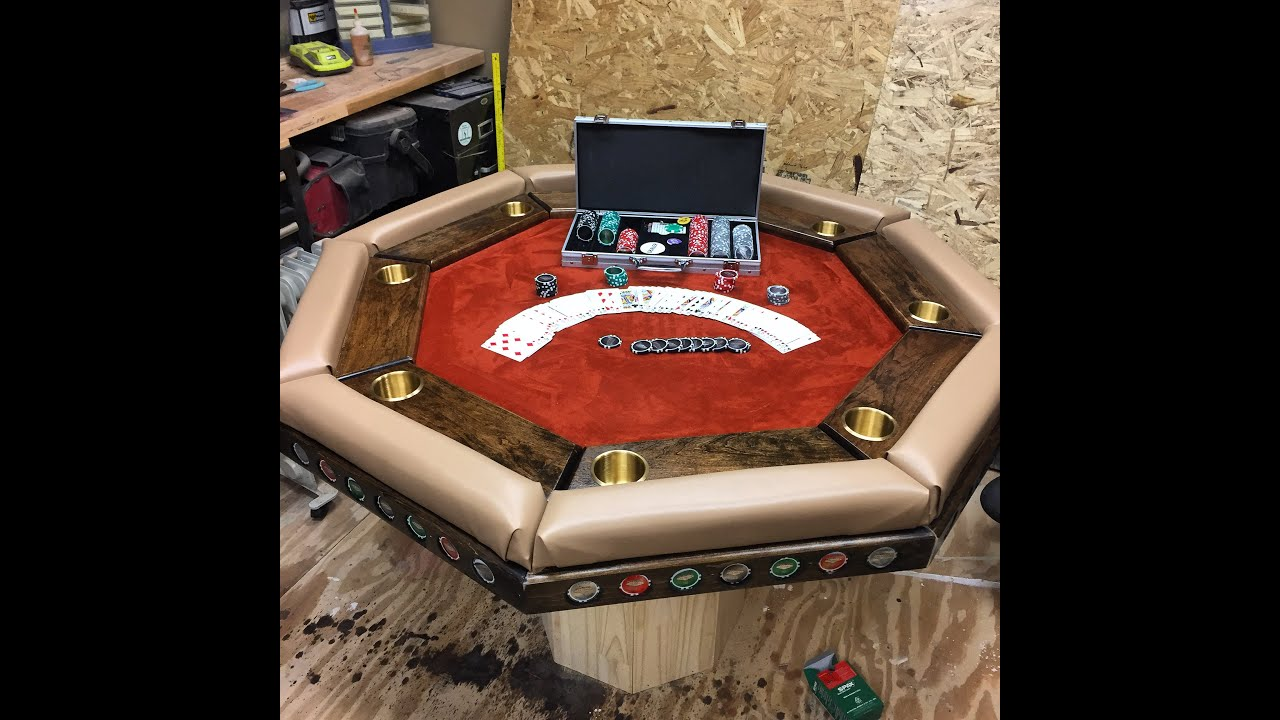Merveilleux Building A Poker Table   YouTube