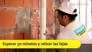 Aplicación de Alpress Manual y Puente de Adherencia Durlock®