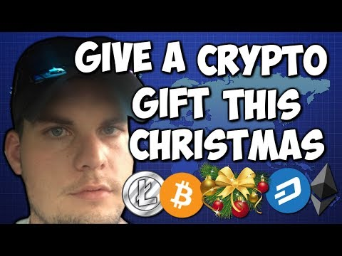 Give a Crypto Christmas Gift, 2018 WILL be the Big Year for Cryptocurrency.