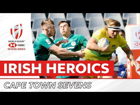 Ireland Score Clutch Winner To Upset Australia