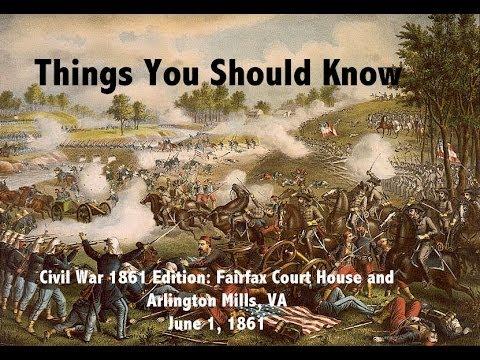 TYSK Civil War Battle 13 Fairfax Court House and Arlington Mills
