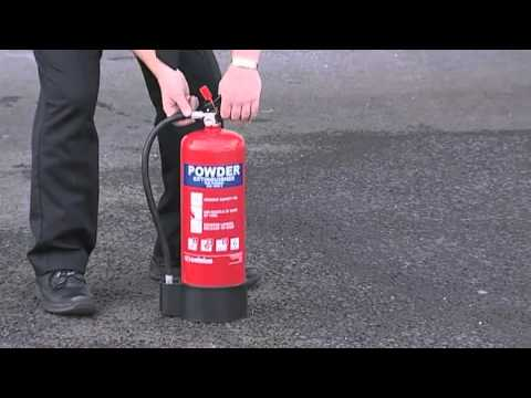 Fire Warden Powder extinguisher