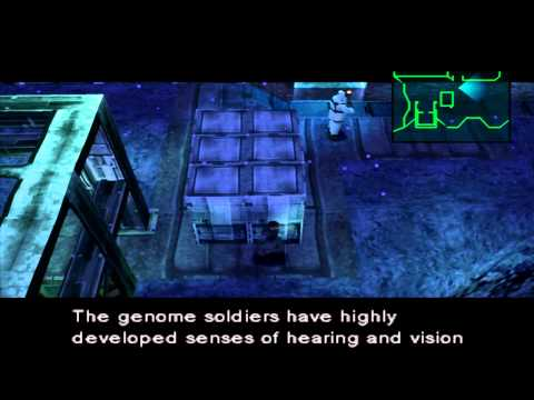 Metal Gear Solid Part 1 PS1 Gameplay *HD* 1080P