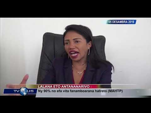 VAOVAO DU 05 DECEMBRE 2019 BY TV PLUS MADAGASCAR