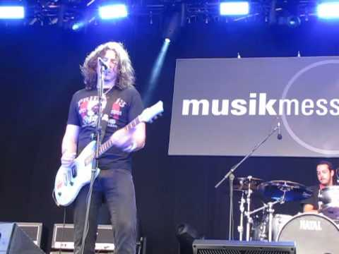 Phil X & the (European) Drills on Central Stage at Frankfurt's Musikmesse April 10, 2016