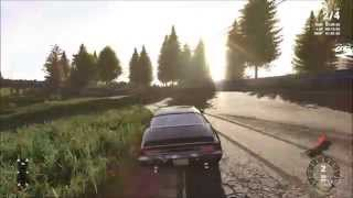 Next Car Game: Wreckfest - American Muscle Car Gameplay (PC HD) [1080p]