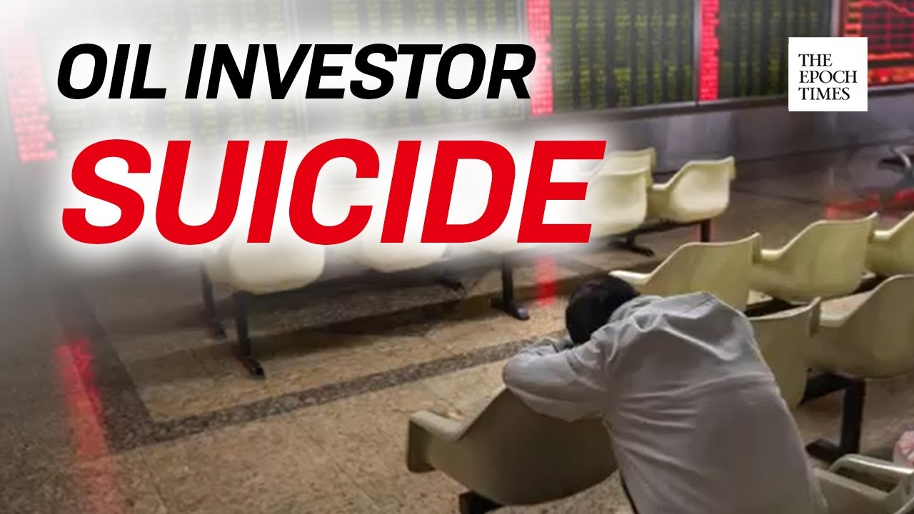"Investors Commit Suicide After Bank of China's ""Futures Contract of Crude Oil"" 