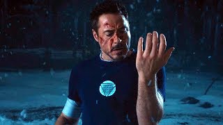 "Iron Man Falls - Snow Scene ""Not My Idea!"" Iron Man 3 (2013) Movie CLIP HD"