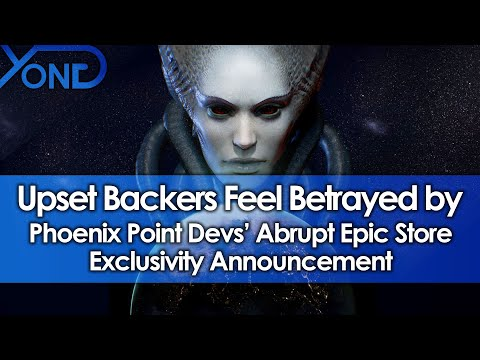 Upset Backers Feel Betrayed by Phoenix Point Devs' Abrupt Epic Store Exclusivity Announcement
