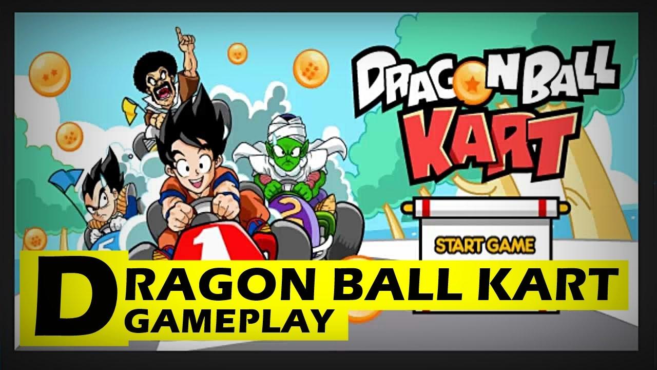 dragon ball kart gameplay youtube