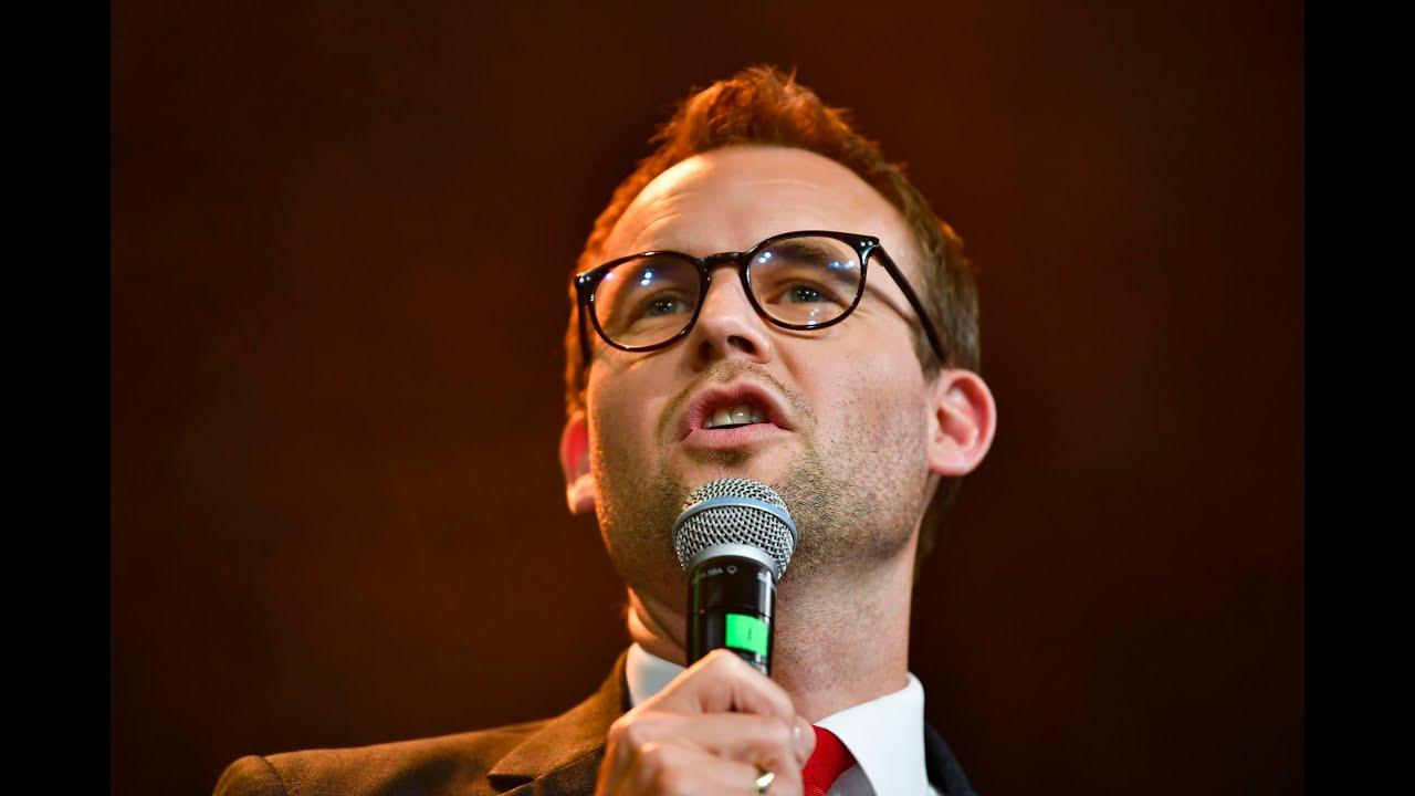 Kjell Ingolf Ropstad på valgvake 2021
