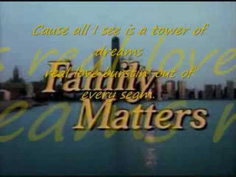 Family Matters *full song with lyrics* - YouTube
