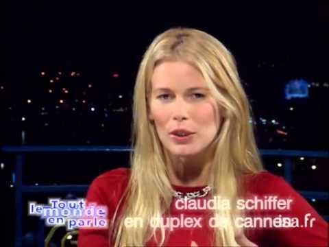 Interview vérité Claudia Schiffer en duplex de Cannes - Archive INA