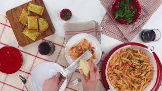 How to Make Tomato Basil Penne Pasta | Pasta Recipes | Allrecipes.com