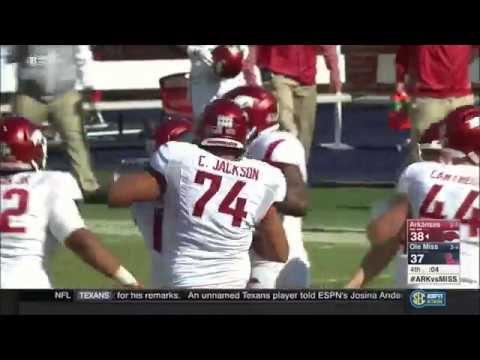 Arkansas vs. Ole Miss 2017