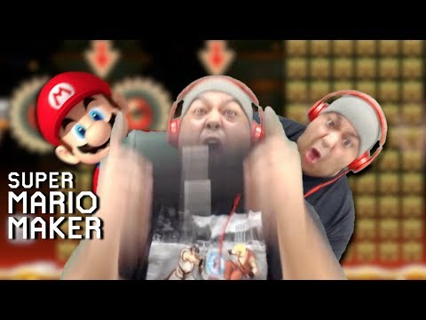 THIS LEVEL IS IMPOSSIBLE AF!!!  [SUPER MARIO MAKER] [#109]