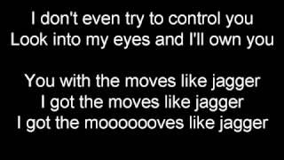 Maroon 5 Moves Like Jagger Letra Youtube