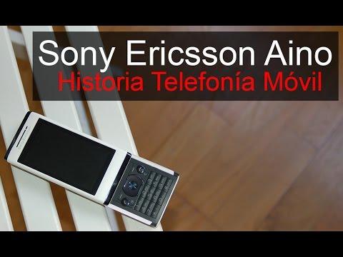 Sony Ericsson Aino, anunciado en 2009 | Historia Telefonía Móvil
