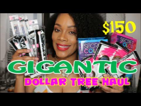 GIGANTIC Dollar Tree Haul | May 2016 $150  ❤❤❤