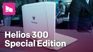 Acer Predator Helios 300 Special Edition gaming laptop hands-on thumbnail