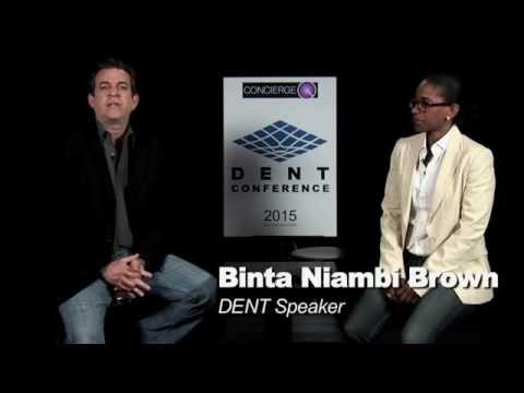 2015 DENT Conference: Binta Niambi Brown, DENT Speaker, Interview