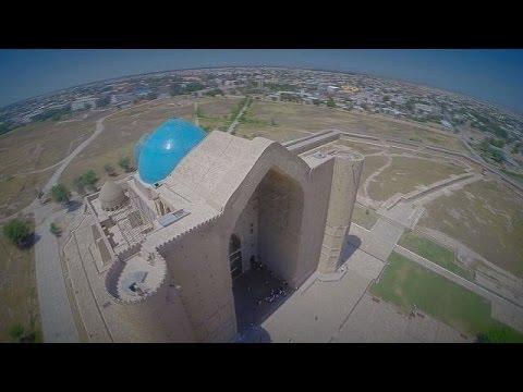 Massive Mausoleum Revered By Pilgrims - Postcards from Kazakhstan
