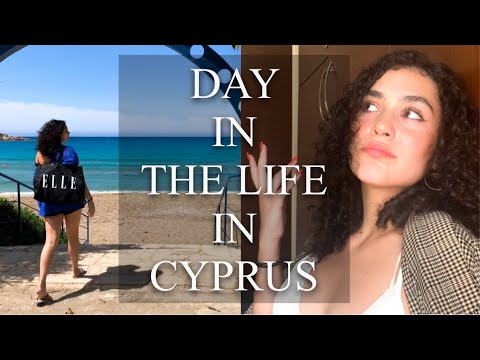 DAY IN THE LIFE - CYPRUS EDITION !!! Beach Day, Chill, Daily Exercise
