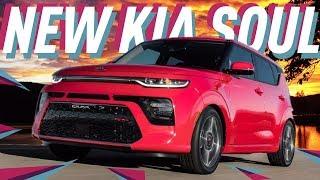Новый Kia Soul 2019 в Женеве
