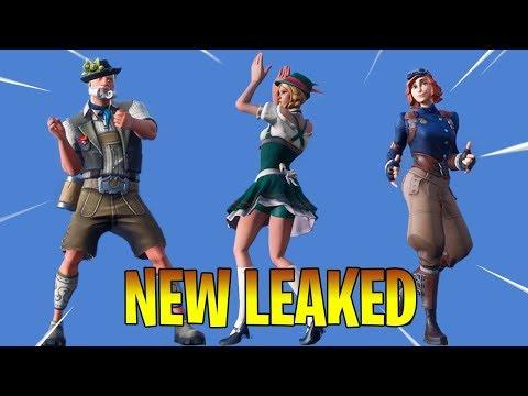 *NEW* Leaked Skins & Emotes Season 6 Fortnite