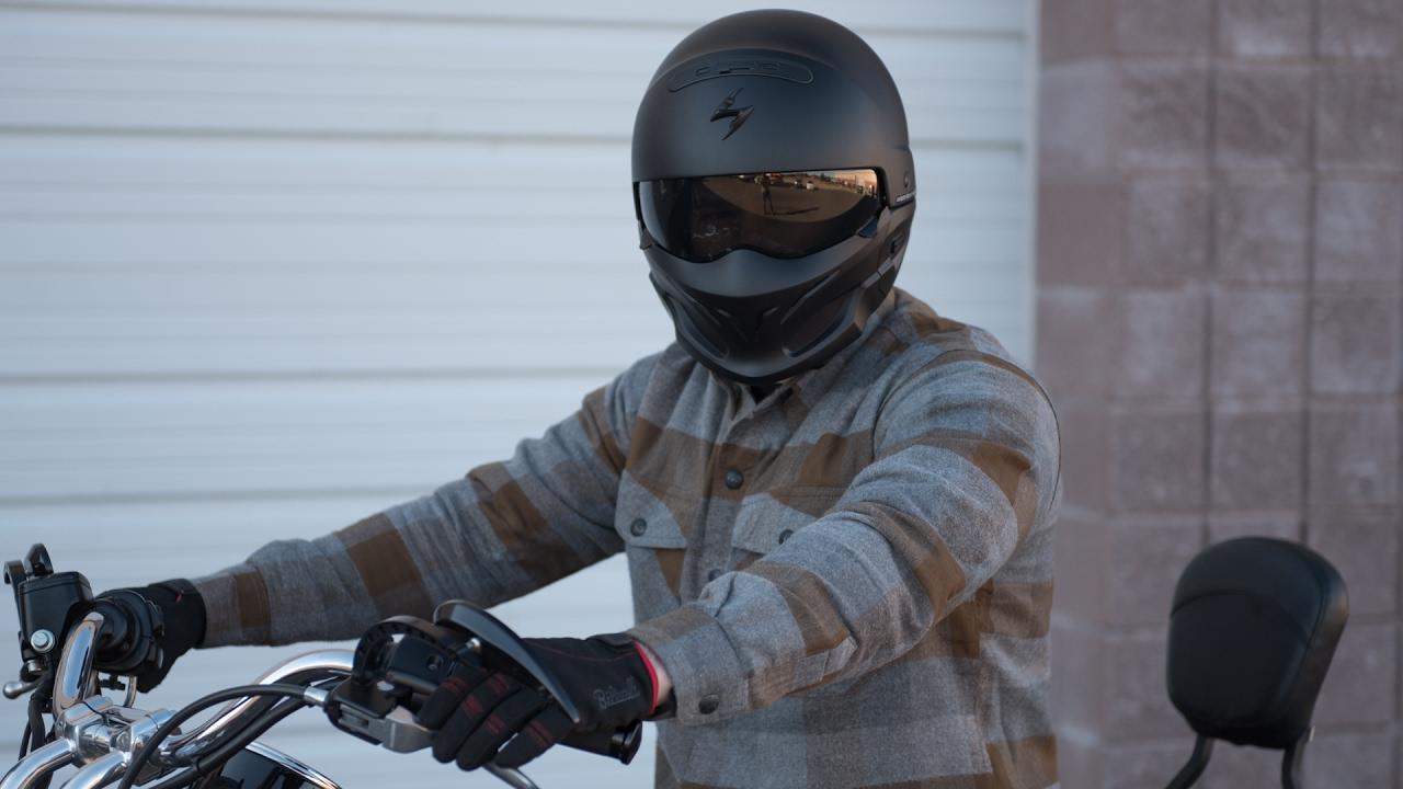 5be59261 Scorpion Covert Helmet Review - GetLowered.com - YouTube